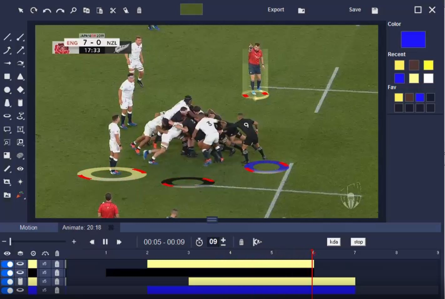 Video analysis purpose